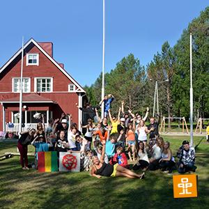 Kesäleiritunnelmia Parasta Lapsille ry:n Leirikeskus Koivuhaassa