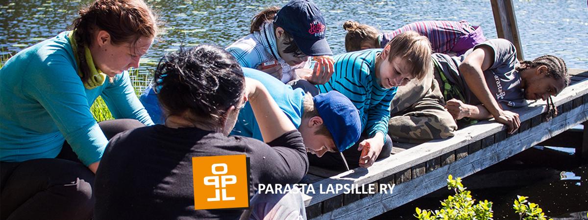 Parasta Lapsille nuorten leiri Lomakeskus Pukkilassa