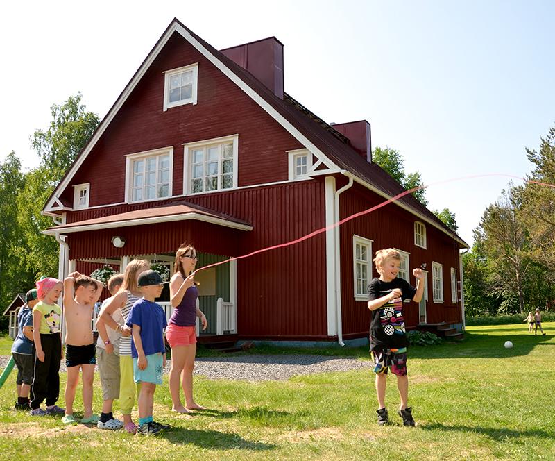 Parasta Lapsille -leiri Koivuhaan leirikeskuksessa.