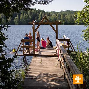 Parasta Lapsille kesäleiri Lomakeskus Pukkilassa