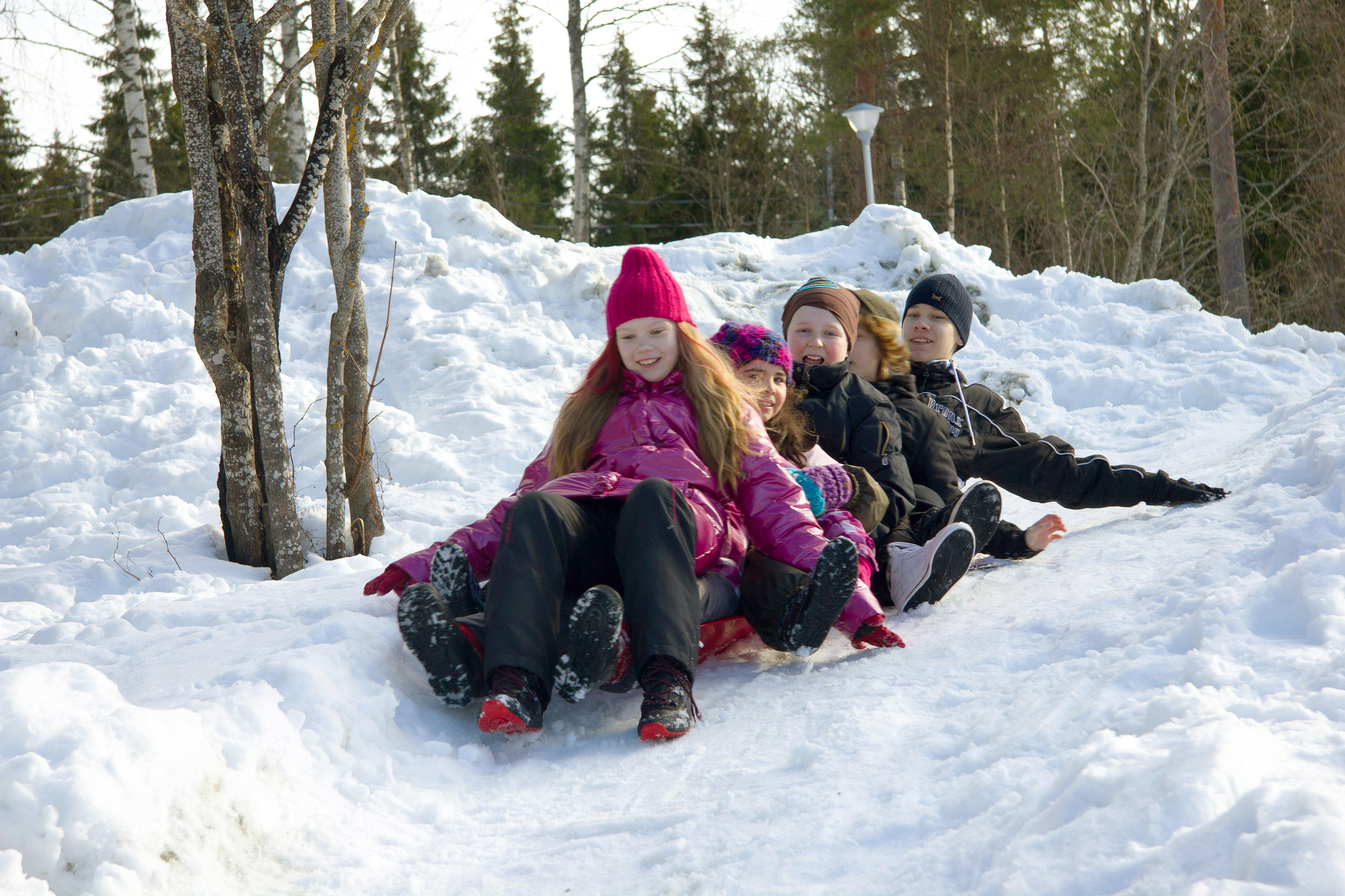 Parasta Lapsille talvileiri Lomakeskus Pukkilassa